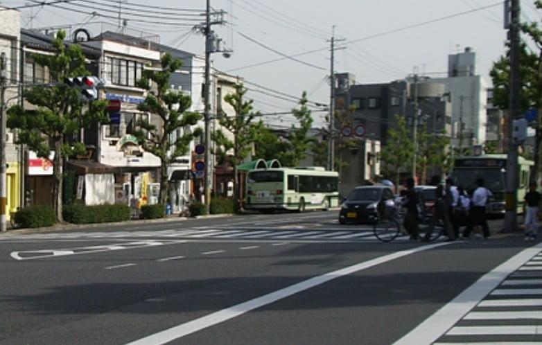 金閣寺前バス停
