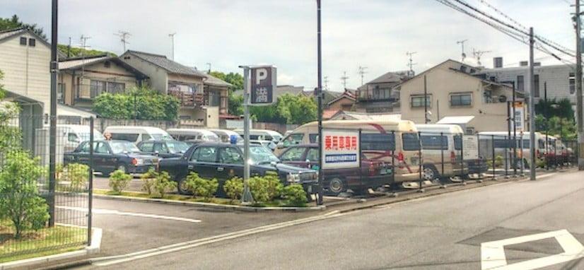 金閣寺・第4駐車場の場所