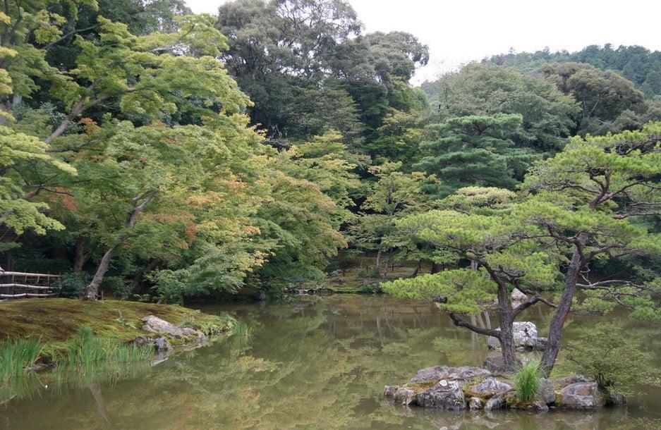 京都・金閣寺の見どころ【その1】「回遊式庭園(かいゆうしきていえん)」