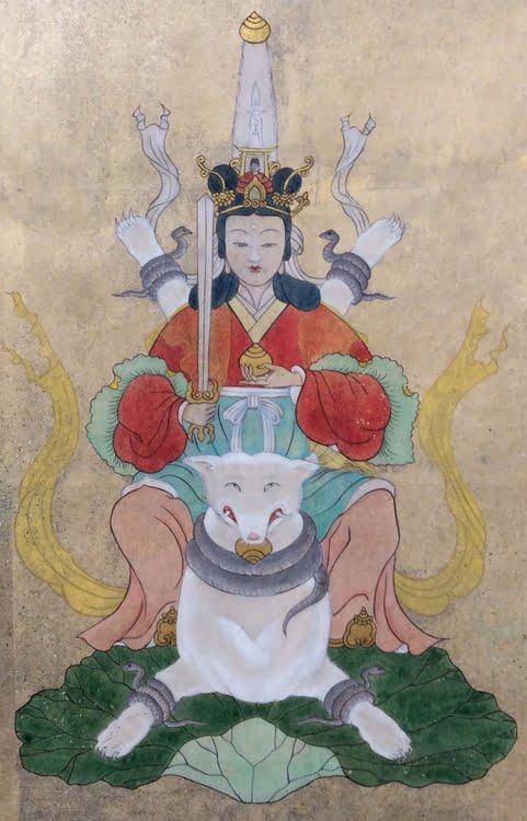 京都・金閣寺(鹿苑寺)の「茶枳尼天(ダキニテン)」とは?