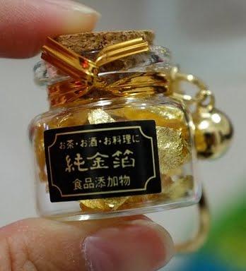 金閣寺の金箔