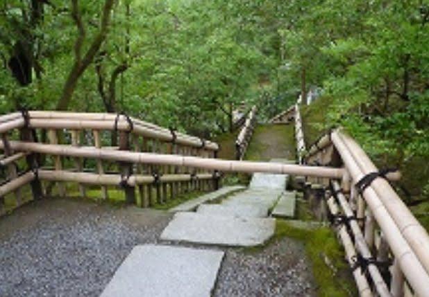 金閣寺垣 虎渓橋