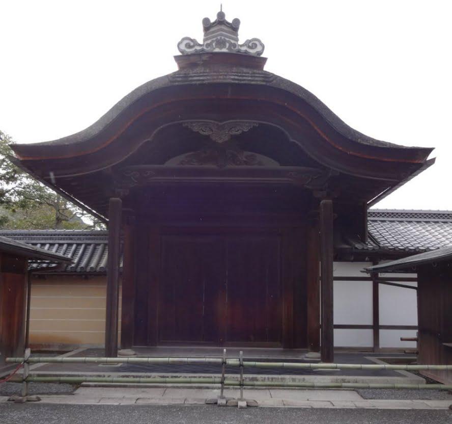 金閣寺(鹿苑寺)・唐門
